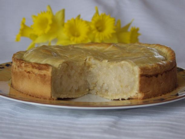 Lemon-Rice Cake