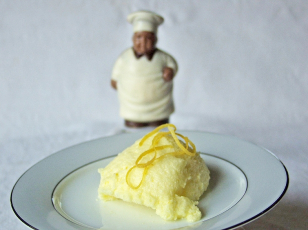 Lemon mousse 1