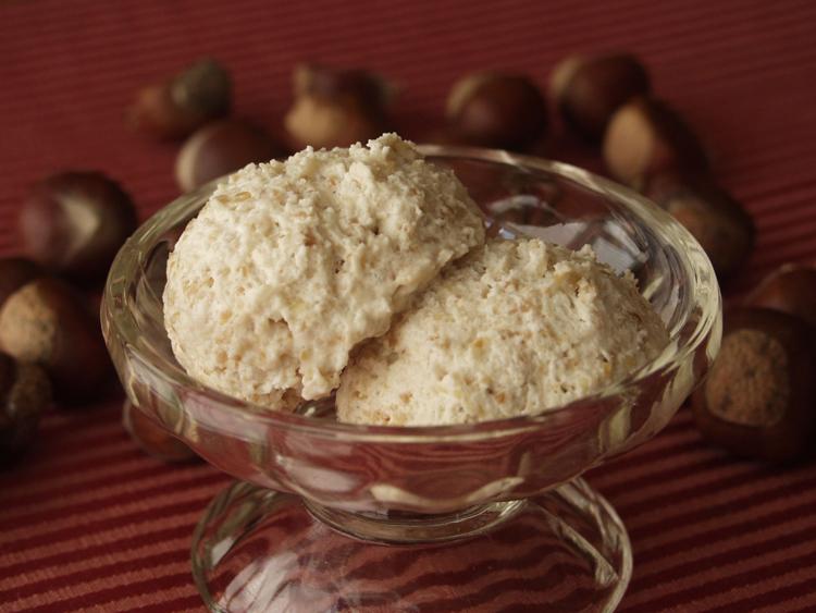 Chestnut mousse
