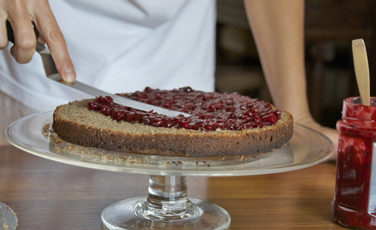 Buckwheat cake 3