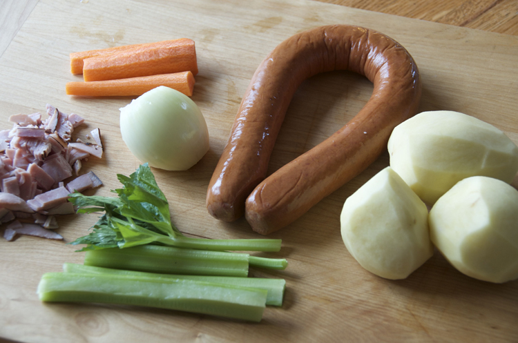 German potato soup ingredients