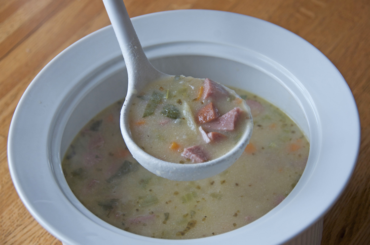 German potato soup spoonfuls of germany german potato soup publicscrutiny Images