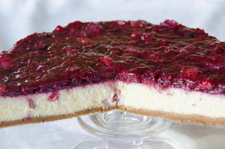 Rote Grütze Cheesecake